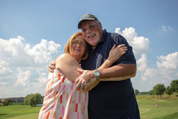 Deb Brown was diagnosed with prediabetes. Her husband, Milton, has diabetes. She was determined to do something to stop herself from getting diabetes.