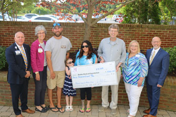 2018 Cast for a Cure check presentation