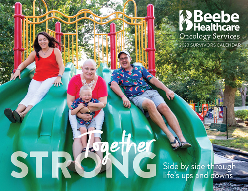 Beebe Oncology Services 2020 Calendar - available mid-October at Tunnell Cancer Center.