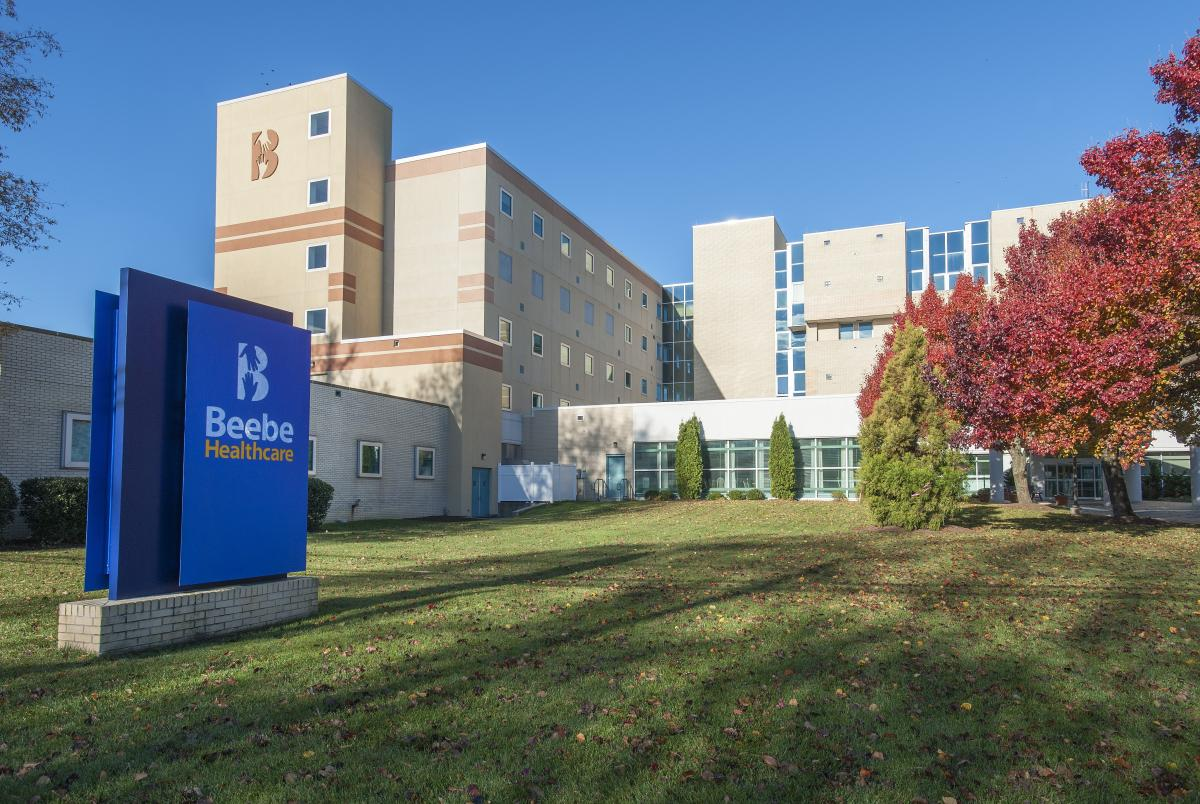 Media file:Beebe Healthcare-front of hospital_0.jpg