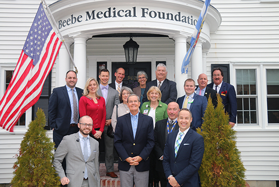 Members of Beebe Healthcare's Charitable Gift Planning Advisory Council met at Beebe Medical Foundation