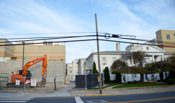 Construction began in October for a new hybrid operating room at the Medical Center in downtown Lewes.