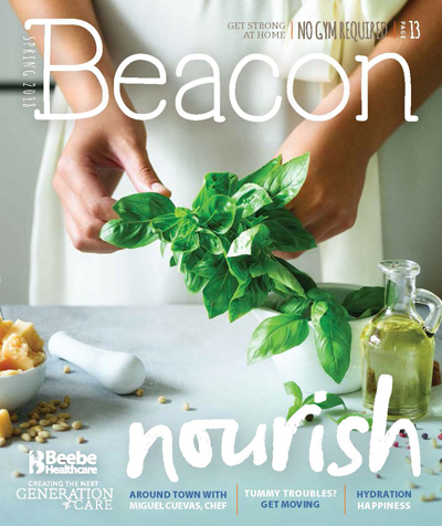 The Spring 2018 Beacon - the Food Issue