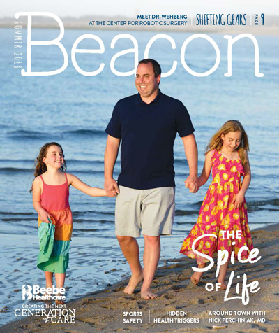 The Summer 2018 Beacon - Men's Health issue