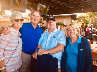 Diane Barlow, Gift Planning Officer, Beebe Medical Foundation; Drew Sunderlin, Chairman of Progress for Prostate, John McNemar, donor, and Judy Aliquo, President & CEO of Beebe Medical Foundation.