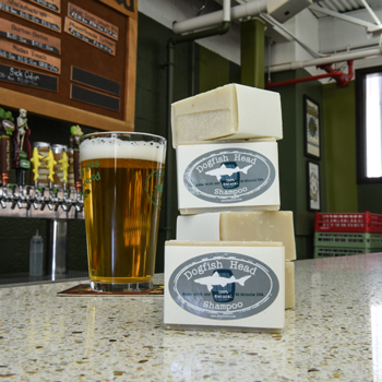 Dogfish makes a beer-inspired shampoo