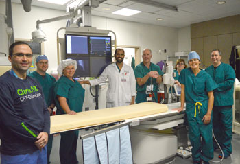 The Electrophysiology Team at Beebe completed their first Micra pacemaker procedure recently.