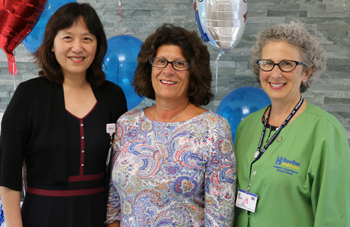 Dr. Chen, Emilie, and Jody Barbarulo.