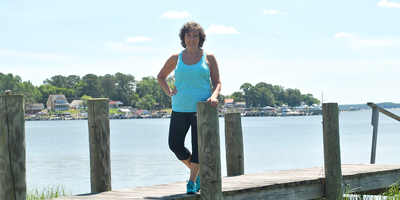 Henri Belcher Stack is back to living her life and teaching Zumba following her diagnosis of ovarian cancer.