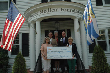Delaware Celebration of Jazz Check Presentation