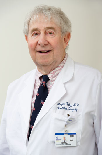 Dr. Mayer Katz, vascular surgeon