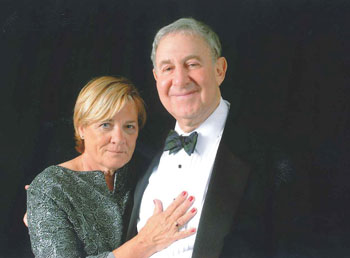 Dr. Mayer Katz and his wife, Nancy.