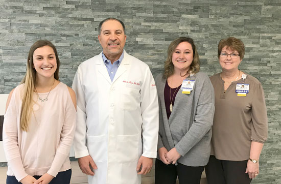 School of Nursing Scholarship Recipients - Medical Staff Scholarship and Dr. Carl Pierce, Jr. Scholarship