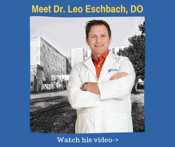 Meet Dr. Leo Eschbach, DO. Watch the video.