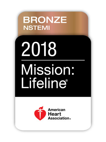 Mission: Lifeline NSTEMI Bronze Award 2018