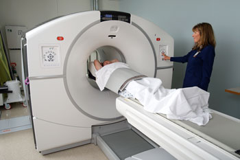 New Digital PET/CT Imaging System with Tech Janine Anderson