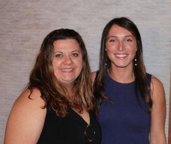 Nicole Santarelli and Rebecca Tappan