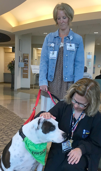 Pet Therapy at Tunnell Cancer Center