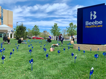 Beebe Healthcare partners with Prevent Child Abuse Delaware (PCAD), which is leading the charge in Delaware with programs, activities, and social media campaigns that help recognize the importance of preventing child abuse. PCAD has programs that teach ch