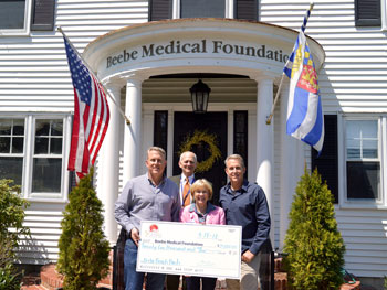Schell Brothers Donate to Beebe Medical Foundation for Beach Bash 2018