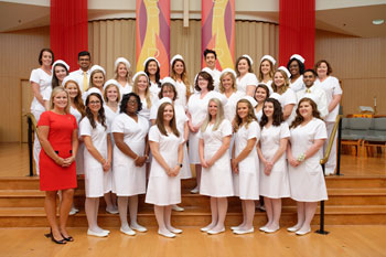 The 2018 School of Nursing graduates