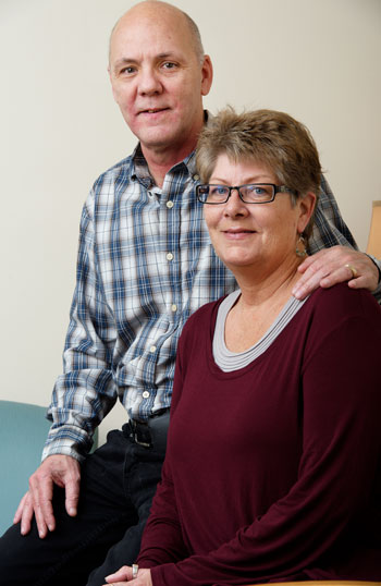 Thomas and Kim Killean, Tunnell Cancer Center patients
