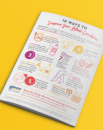 Download the infographic to learn how to improve your vein health.