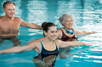 Exercise helps us stay healthy as we age.