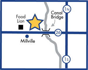 Millville Imaging Location Map