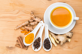 Turmeric, black pepper, and cinnamon are known to help keep your brain sharp.