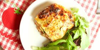 A healthier lasagna recipe