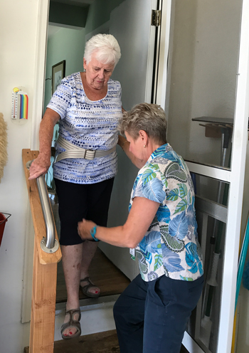 Beebe Home Care helps clients in their homes.