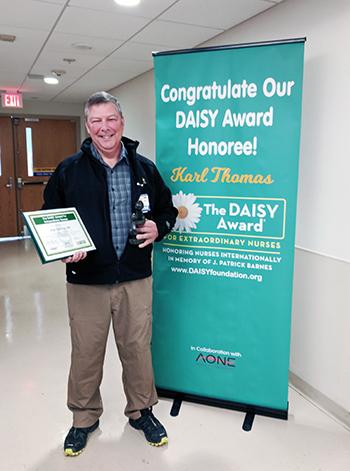 Karl Thomas, October DAISY award