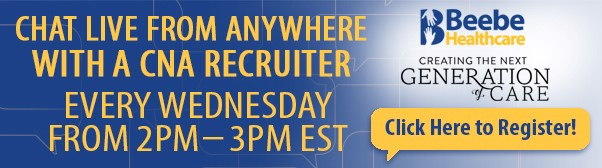 CHAT LIVE WITH CNA RECRUITER