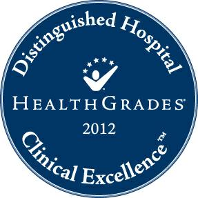 Distinguished Hospital Award Medallion 2012