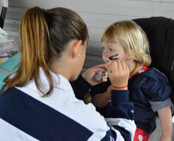 Jane Mavity facepainting