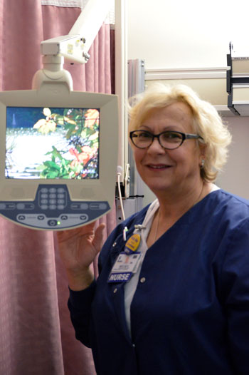 Mary Beth Showcasing CARE Channel