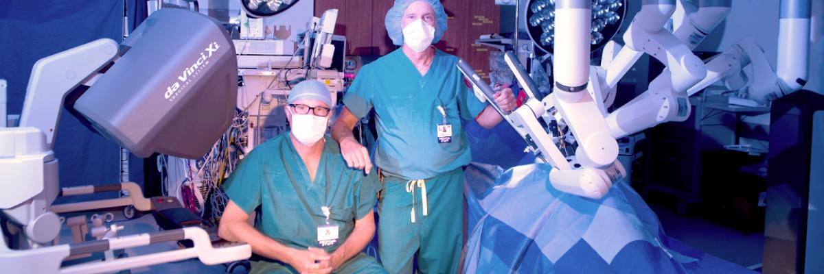 Beebe's Center for Robotic Surgery