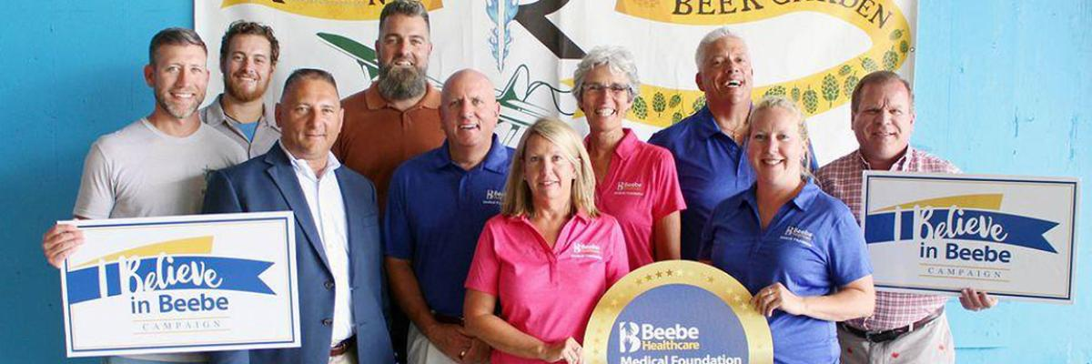 Beebe Medical Foundation header