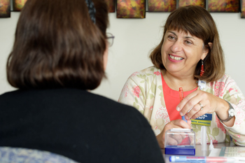 Tina Trout sees patients at Diabetes Management and Medical Nutrition Therapy.